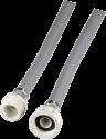 xavax tubo di arrivo dell'acqua fredda - allungamento, 2,5 m