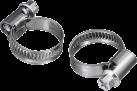 xavax 110813 - 2x Schlauchschelle - Silber