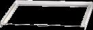 xavax 110815 - Elément intermédiaire pour lave-linge/sèche-linge - Blanc