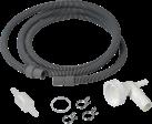 xavax 110903 - Set de tuyau d'écoulement pour sèche-linge à condensation