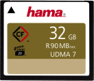 hama CompactFlash - Supporto di memorizzazione rimovibile - 32 GB - Nero