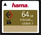 hama CompactFlash - Scheda di memoria - 64 GB - Nero