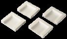 xavax Fixations pour sèche-linge, à coller, jeu de 4