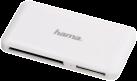 hama USB-3.0-SuperSpeed-Multi-Kartenleser Slim, weiss