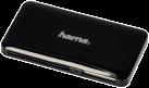 hama USB-3.0-SuperSpeed-Multi-Kartenleser Slim, schwarz