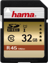 hama SDHC Flash-Speicherkarte, 32 GB