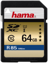 hama SDXC 64 GB Class 10 UHS-I 85 MB/S