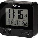 hama RC 540 - sveglia radiocontrollato - 12-/24-h-Format - Nero