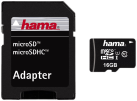 hama microSDHC 16 GB Class 10 UHS-I 45 MB/s + Adapter/Mobile