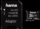 hama microSDHC 16GB Class 10 UHS-I 45MB/s + Adattatore / Foto