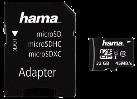 hama Carte microSDHC 32Go Classe 10 UHS-I 45MB/s + Adaptateur/Photo