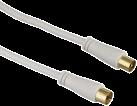 hama Câble d'antenne, Fiche coaxiale, Prise coaxiale, 90 dB, 20 m