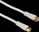 hama cavo satellitare, spina F - spina F, oro placcato, 1.5 m, 90 dB