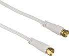 hama cavo satellitare, spina F - spina F, oro placcato, 3 m, 100 dB