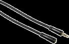 hama Audio-Verlängerungskabel, 3,5-mm-Klinken-Steck. - Kupp., 5 m