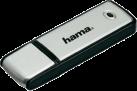 hama FANCY - Chiavette USB - 128 GB - Nero/Argento