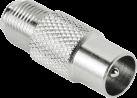 hama SAT-Adapter, F-Kupplung - Koax-Stecker