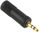 hama Audio-Adapter 3,5-mm-Klinken-Stecker, 6,3-mm-Klinken-Kupplung