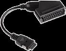 hama Adapter für Samsung TV, Scart-Kupplung - Samsung-Stecker
