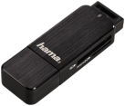 hama USB 3.0 SuperSpeed SD/microSD Card Reader