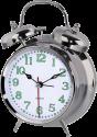 hama Nostalgie - Réveil - Aiguilles des heures et des minutes fluorescentes - Argent