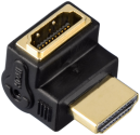 hama High Speed HDMI™-Winkeladapter, Stecker - Kupplung, 90°