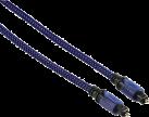 hama Câble de liaison optique ODT Haute Qualité - pour PS4 - 2.5 m - bleu