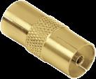 hama Antennen-Adapter, Koax-Kupplung