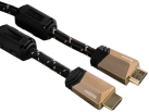 hama High Speed HDMI™-Kabel, Ferrit, Ethernet, 75 cm