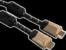 hama Câble HDMI™ haut débit, Noyau ferrite, Ethernet, 1,5 m