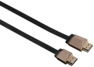 hama High Speed HDMI™-Kabel Flexi-Slim, Ethernet, 1.5 m