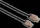 hama High Speed HDMI™-Kabel Flexi-Slim, Ethernet, 5 m