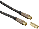 hama Cavo d'antenna, presa coassiale - innesto coassiale, 1.5 m, 120 dB