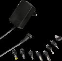 hama Eco - Universal-Schaltnetzteil Set - 600mA - Schwarz