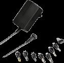 hama Universal Alimentazione per Notebook Eco 1000 mA - Chargeurs - 12 W - Nero