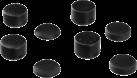 hama Kit 8en1 d´embouts pour sticks pour PS4