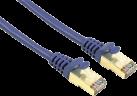hama Câble réseau CAT-5e STP, 1.5 m, bleu