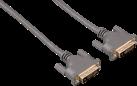 hama 125287 - DVI-Kabel - 1.8 m - Grau