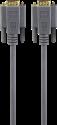 hama VGA-Kabel - Stecker - 1.8 m - Grau