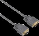 hama Cavo VGA - 3 m - Grigio
