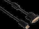hama HDMI-DVI-Kabel, 3 m