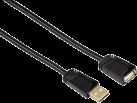 hama Cavo di prolungamento USB-2.0, 3 m