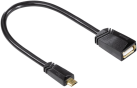 hama Câble adaptateur USB-2.0-OTG, 0.15 m