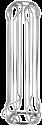 xavax portacapsule caffé razzo, argento cromato