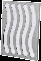 xavax Kaffee-Kapselhalter Pendolare III, silber