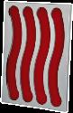 xavax Kaffee-Kapselhalter Pendolare III, 32, silber/rot