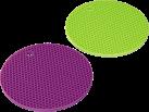 xavax Supporto in silicone per pentole, 2 pezzi