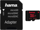 hama microSDHC Class 3 UHS-I + Adapter/Mobile - Carte mémoire - 32 GB - Noir