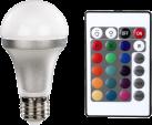 xavax 112213 - Multicolore lampadina LED con telecomando - Forma del bulbo - E27