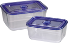 xavax Frischhalte-/Auflaufformen-Set aus Glas